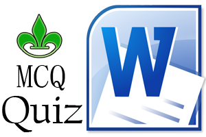 MICROSOFT WORD Multiple Choice Questions and Answers pdf