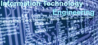 INFORMATION TECHNOLOGY ENGINEERING IT