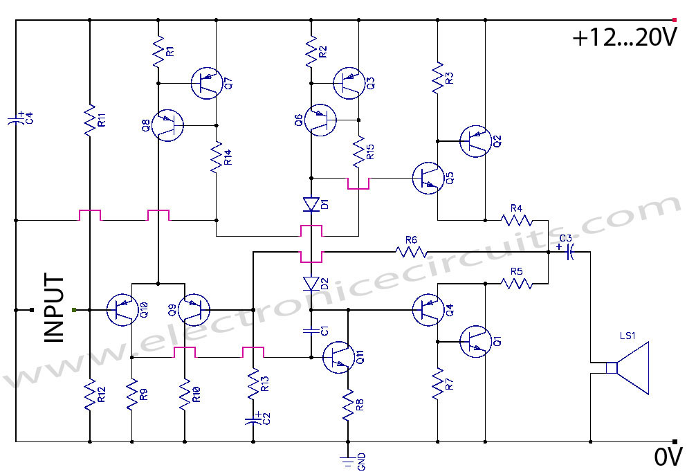 50 TOP TRANSISTOR AUDIO POWER AMPLIFIERS Questions and Answers pdf | MCQs TRANSISTOR AUDIO POWER ...