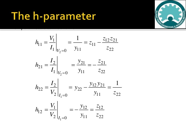 HYBRID PARAMETERS Questions and Answers pdf