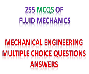 FLUID MECHANICS Multiple choice Questions and Answers Pdf
