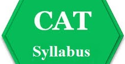 CAT SYLLABUS 2018 PDF free Download