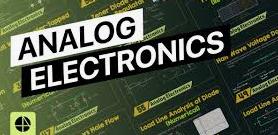 Analogue electronics Questions