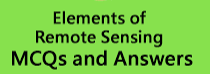 Elements of Remote Sensing Multiple Choice Questions