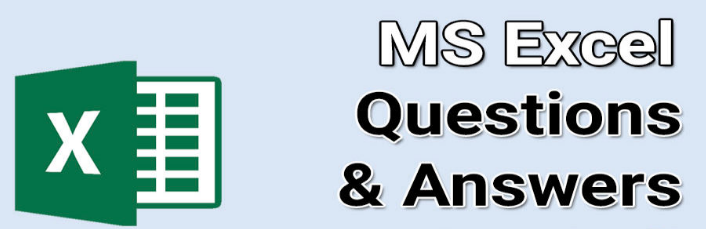 300+ TOP MS EXCEL Questions and Answers MS EXCEL MCQ Quiz