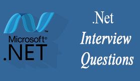 . NET Interview Questions